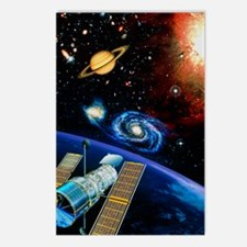 Artwork of Hubble Space T Postcards (Package of 8)