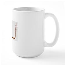 Artwork of human motor neuron (nerve ce Mug
