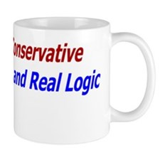 Confuse a conservative with logic Mug