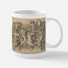 Battle of Two Sea Monsters - Andrea Mantegna Mug