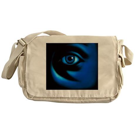 Abstract illustration of the human e Messenger Bag