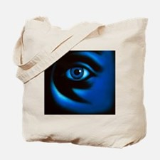Abstract illustration of the human eye, a Tote Bag