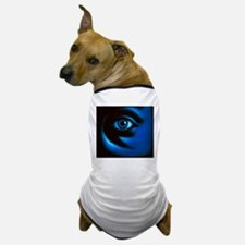 Abstract illustration of the human eye Dog T-Shirt