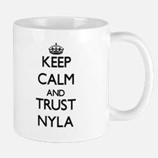 Keep Calm and trust Nyla Mugs
