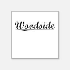 """Woodside, Vintage Square Sticker 3"""" x 3"""""""