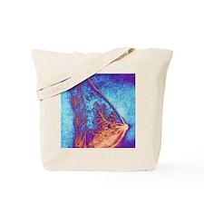 Artwork of a healthy breast Tote Bag