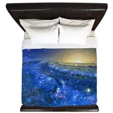 Artwork of the Milky Way, our galaxy King Duvet