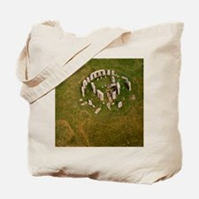 Aerial view of Stonehenge Tote Bag