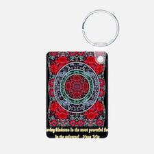 KUAN YIN MANDALA LOVING-KI Keychains