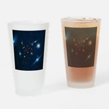Artwork of various galaxies showing Drinking Glass