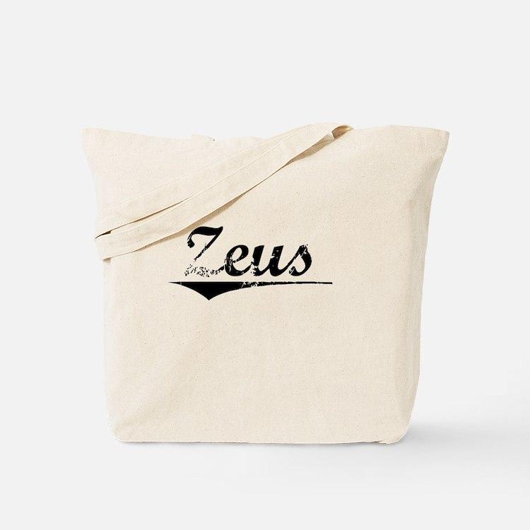 Zeus, Vintage Tote Bag