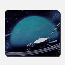 Artwork showing Voyager 2's encounter wi Mousepad