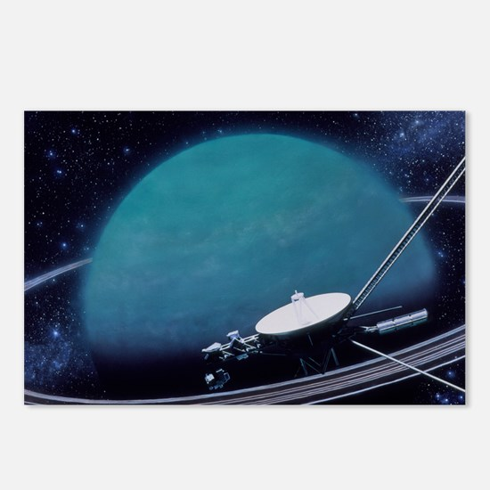 Artwork showing Voyager 2 Postcards (Package of 8)
