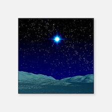 "Alien night sky Square Sticker 3"" x 3"""