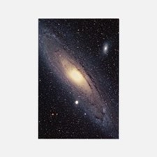 Andromeda galaxy Rectangle Magnet