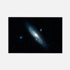 Andromeda galaxy (M31) Rectangle Magnet