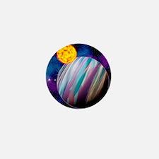 Alien planets Mini Button