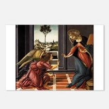 Cestello Annunciation - Botticelli Postcards (Pack
