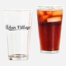 Adair Village, Vintage Drinking Glass