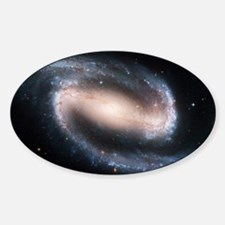 Barred spiral galaxy NGC 1300, HST  Decal