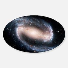 Barred spiral galaxy NGC 1300, HST  Sticker (Oval)