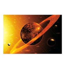 Artwork of red dwarf star Postcards (Package of 8)