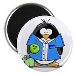 Bowling Penguin Magnet