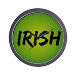 Irish Handwriting Wall Clock