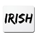 Irish Handwriting Mousepad