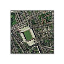 "Arsenal's Highbury stadium, Square Sticker 3"" x 3"""