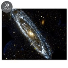 Andromeda Galaxy, UV image Puzzle