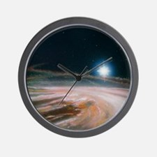 Artist's impression of the formation of Wall Clock