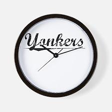 Yonkers, Vintage Wall Clock