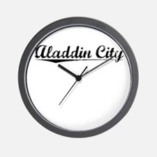 Aladdin City, Vintage Wall Clock