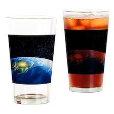 Artist's impression of asteroid sti Drinking Glass