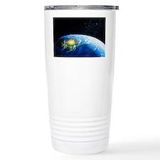 Artist's impression of asteroid Travel Mug