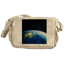 Artist's impression of asteroid stik Messenger Bag