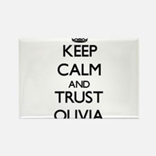 Keep Calm and trust Olivia Magnets