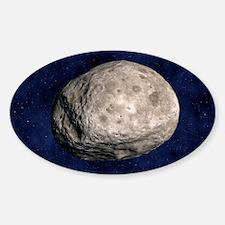 Asteroid Vesta, artwork Decal