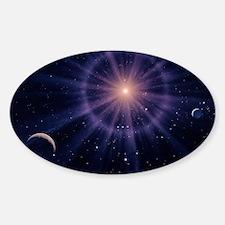 Art of Betelgeuse as supernova Decal