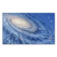 Artwork of the Milky Way, our  Decal