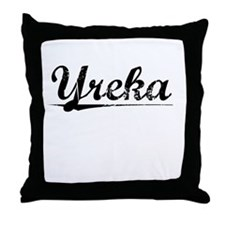 Yreka, Vintage Throw Pillow