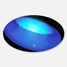 Arwork of a toroidal shaped Univers Decal