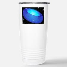 Arwork of a toroidal shaped Uni Travel Mug