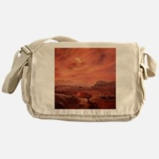 Artist's impression of surface of Ti Messenger Bag