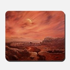 Artist's impression of surface of Titan Mousepad