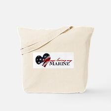 Always loving my Marine Tote Bag