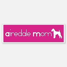 Airedale Mom Bumper Bumper Bumper Sticker