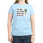 Coffee in an IV Women's Light T-Shirt