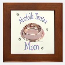 Norfolk Terrier Mom Framed Tile